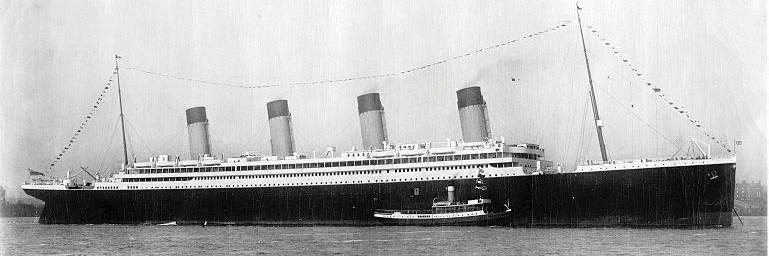 Олимпик (Olympic). Брат-близнец Титаника.