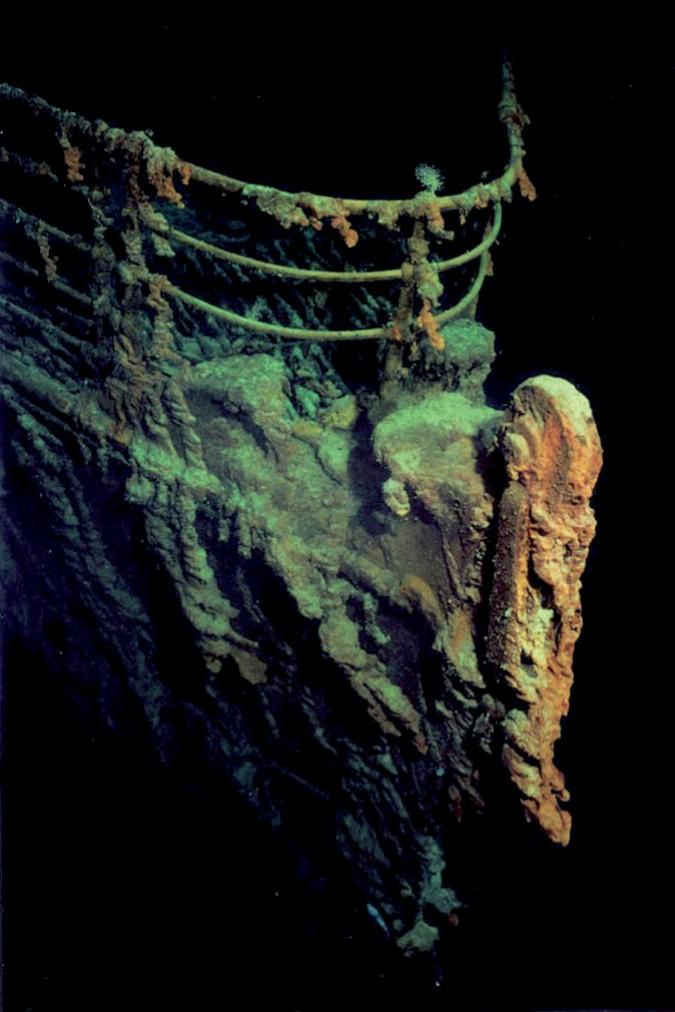 Титаник - подводные съемки