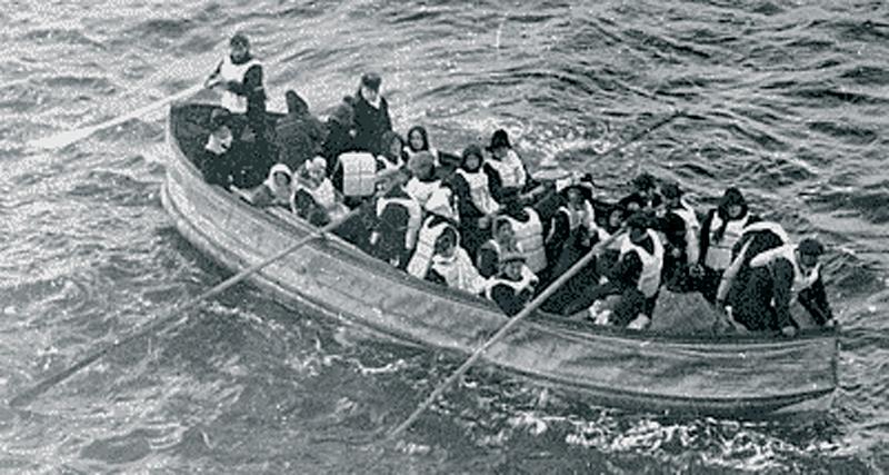 Титаник - спасательная шлюпка