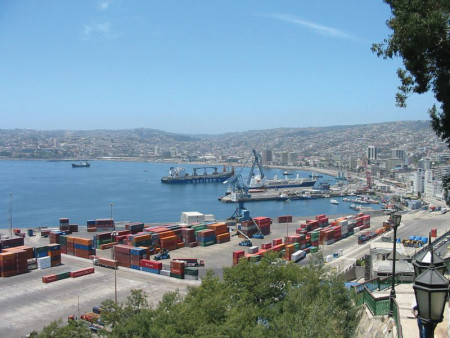 порт Вальпараисо, Чили (Porto de Valparaiso, Chile)