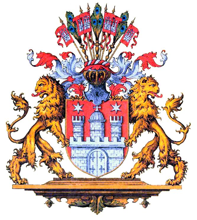 Герб Свободного ганза-города Гамбурга