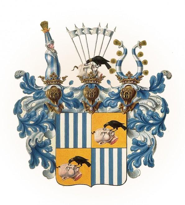 Герб Фюрста фон Шварценберга 1792 г.