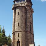 Башня обсерватории в Ауэрсберге (Auersberg) в западной части Рудных гор (Westerzgebirge). Германия