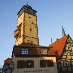 Городская башня в г. Лор на Майне в Германии