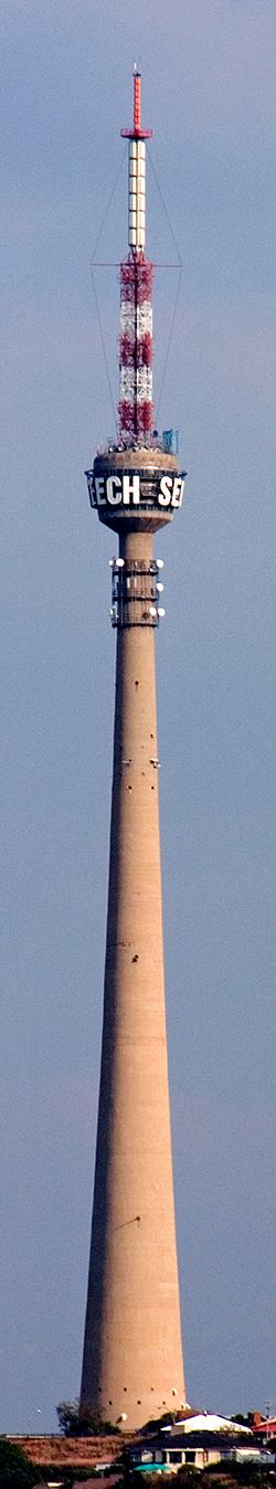 """Телевизионная башня """"Сентех"""" в Йоханесбурге. Южная Африка"""