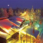Офис Санта-Клауса, огни полярного круга