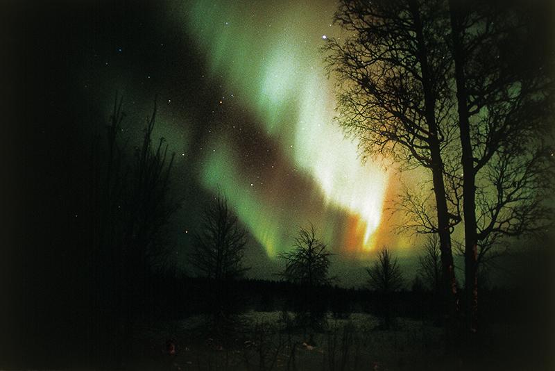 Полярное сияние. Финляндия (Suomi) Лапландия