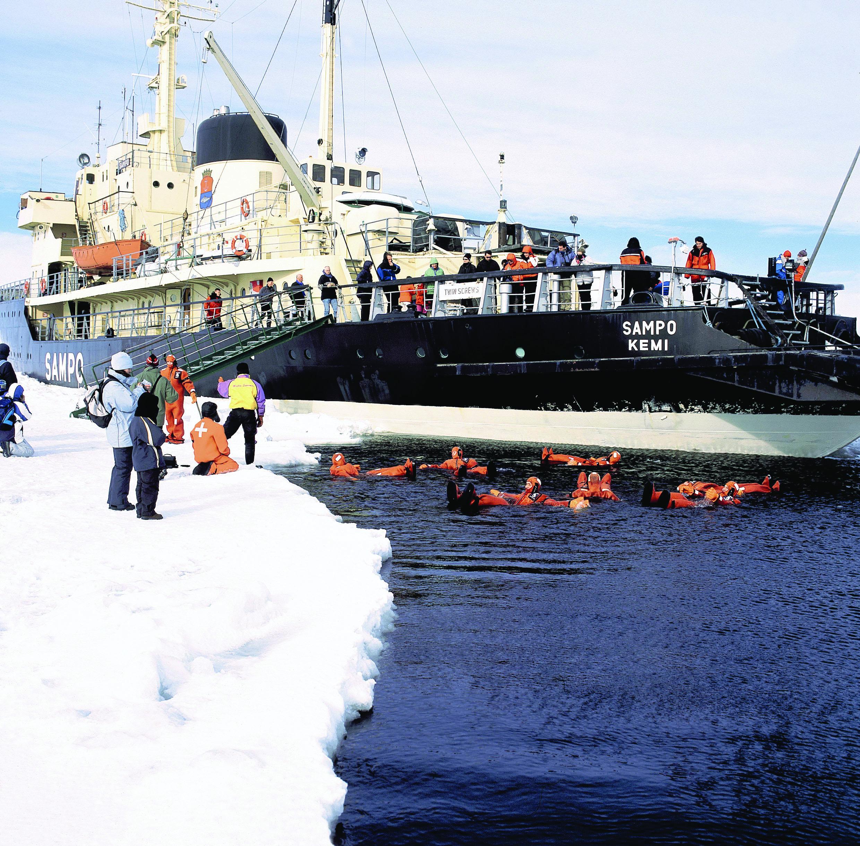 Круиз на ледоколе, Рованиеми