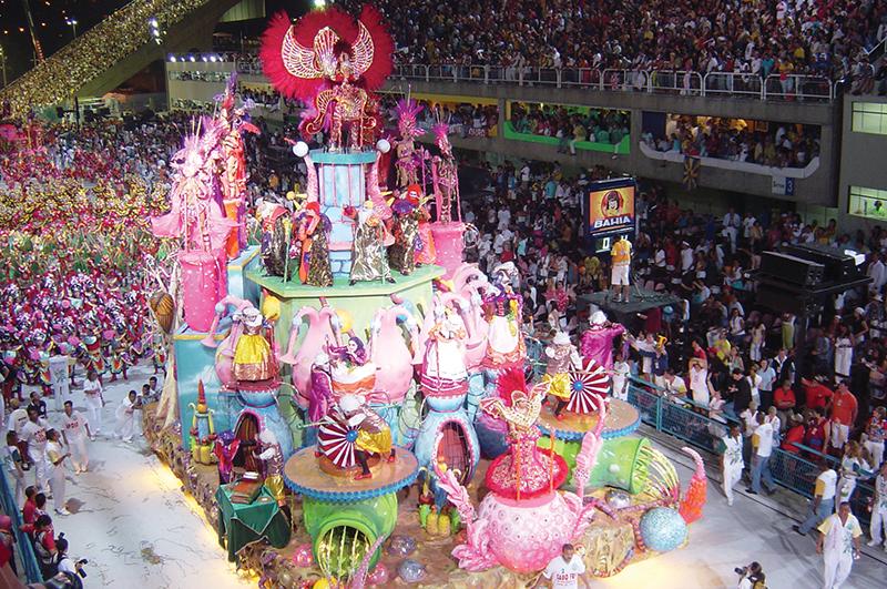 Карнавал. Рио-ди-Жанейро, Бразилия