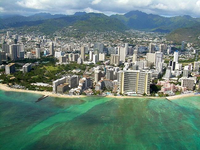 Waikiki beach glavna