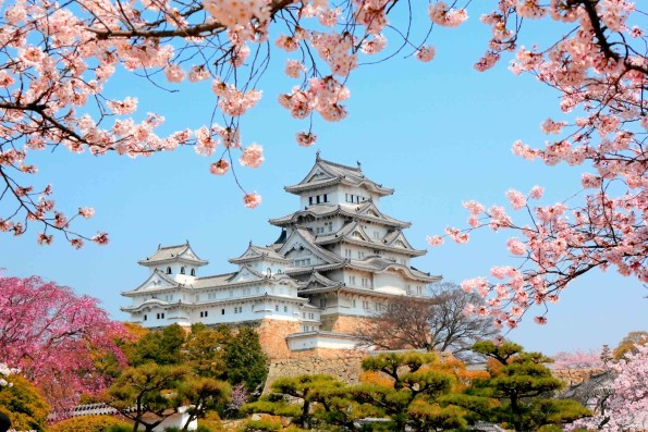 Химэдзи - Замок Белой цапли в Японии