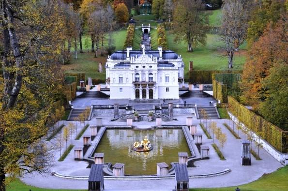 дворец Линдерхоф