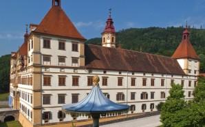 Дворец - замок Эггенберг в Граце