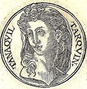 Восстановленное изображение стороны древней монеты