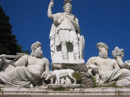 Памятник римским правителям: Луций Тарквиний Приск (616 — 579 год до н. э.) Сервий Туллий (578 — 535 год до н. э.) Луций Тарквиний Гордый (535 — 509 г. до н. э.)