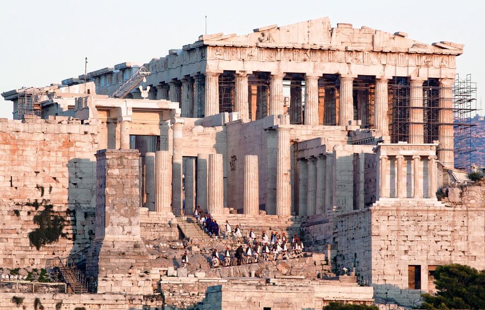 Акрополь — сердце Афин