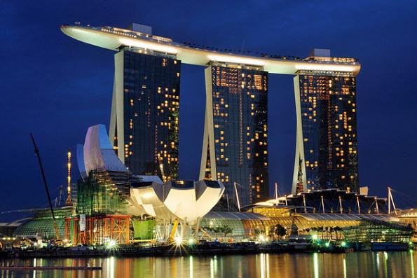 Тропический парк Скай Парк - главная достопримечательность Сингапура