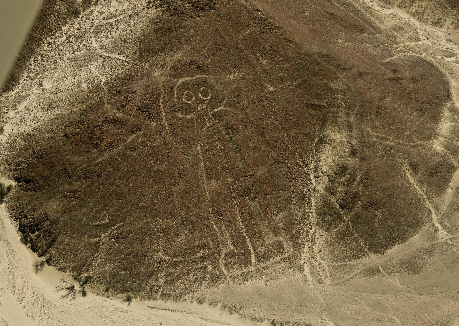 Мать человеческой расы оставила рисунки на плато Наска?